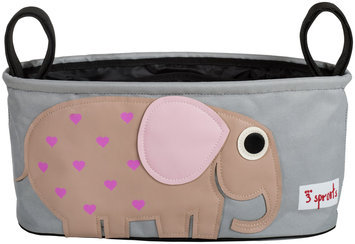 3 Sprouts Stroller Organizer - Elephant - 1 ct.