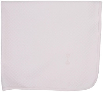 Kissy Kissy Baby Rattle Jacquard Blanket (Baby) - Pink - 1 ct.