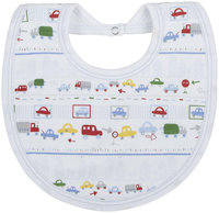 Kissy Kissy Ocean Wonder Print Reversible Bib (Baby) - Blue - 1 ct.