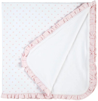 Kissy Kissy Timeless Dots Blanket (Baby) - Blue - 1 ct.