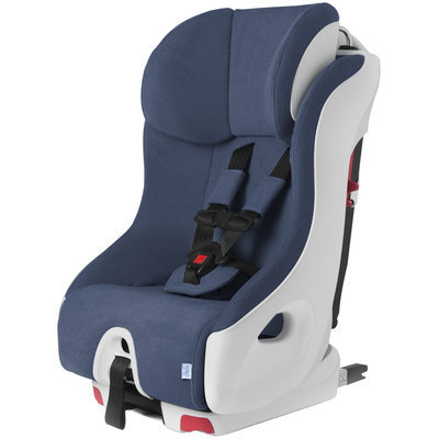 Clek Foonf Crypton Super Fabric Booster Seat In Blue Moon