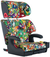 Clek Oobr Booster Car Seat - Tokidoki All Over