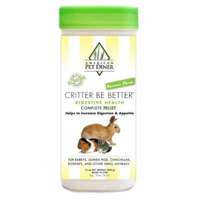 American Pet Diner 81 Critter Be Better Digestive Health Pellets 8oz