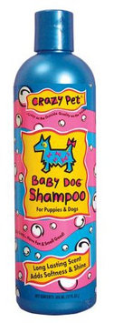 Cardinal Pet Care Cardinal Laboratories CL35512 Crazy Dog Shampoo Baby Powder 12 oz.