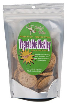 Chasing Our Tails Vegetable Medley Grain Free Vegan All Natural Dog Treats
