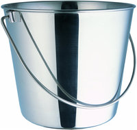 Indipets Heavy Duty Stainless Steel Pail - 4-Quart