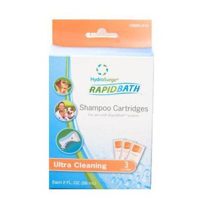 HydroSurge Rapid Bath Animal Shampoo Cartridges - Ultra Cleaning - 3-pack