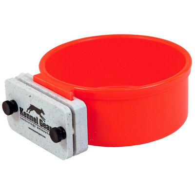 Kennel Gear Bowl with locking system - Red