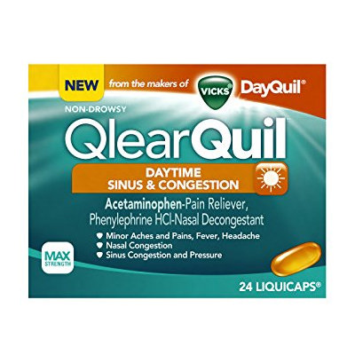 QlearQuil™ Daytime Sinus & Congestion Relief LiquiCaps™