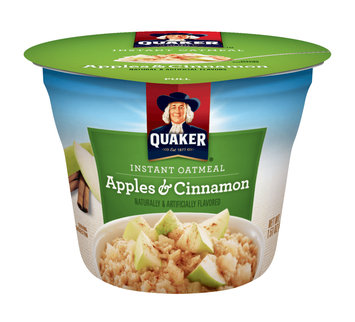 Quaker® Instant Oatmeal Cups Apples & Cinnamon