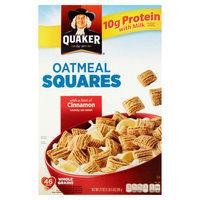 Quaker Oatmeal Squares Cinnamon Cereal