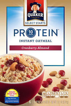 Quaker® Protein Instant Oatmeal Cranberry Almond