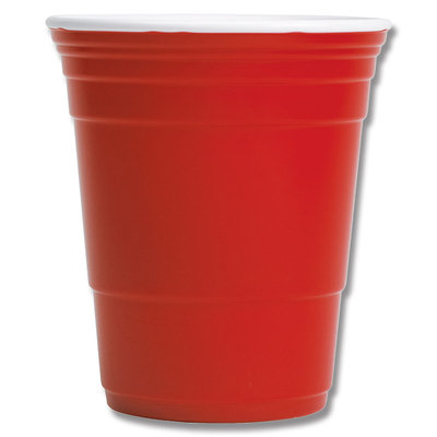 Red Cup Living Reusable Beverage Cup, 18 oz