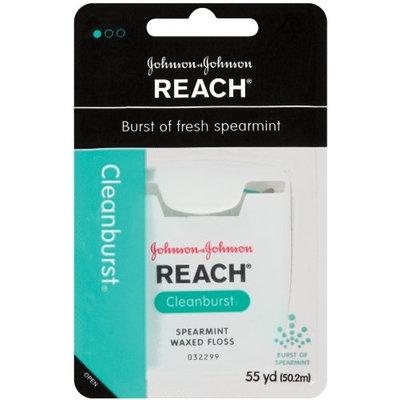 REACH® Cleanburst Spearmint Waxed Floss