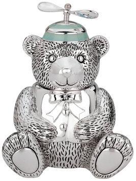 Reed & Barton Boy Bear with Propeller Beanie Bank