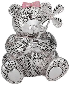 Reed & Barton Girl Bear with Pinwheel Bank