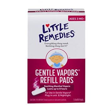 LITTLE REMEDIES® GENTLE VAPORS REFILL PADS