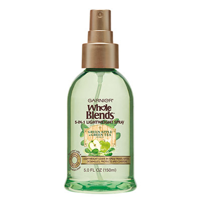 Garnier Whole Blends Refreshing 5-In-1 Lightweight Spray With Green Apple & Green Tea Extracts
