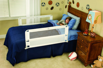 Hide-Away Double Sided Portable Bed Rail by RegaloA