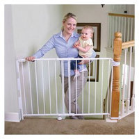 Regalo - Extra Tall Top of Stairs Metal Gate