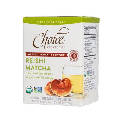 Choice Organic Teas Reishi Matcha Wellness Tea
