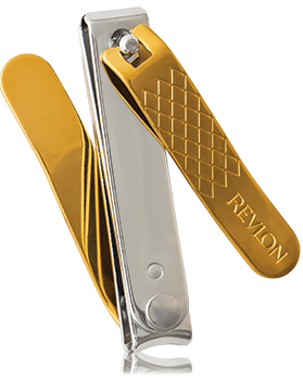 Revlon Gold Series Titanium Coated Dual Ended Nail Clip