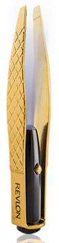 Revlon Gold Series Titanium Coated Lighted Slant Tweezer