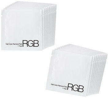 RGB Nail Color Nail Remove Pads