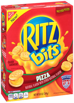 Nabisco RITZ Bits Pizza Cracker Sandwiches