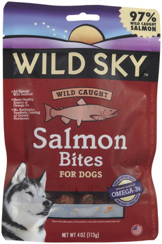 Wild Sky Wild Caught Salmon Bites for Dogs - 4oz