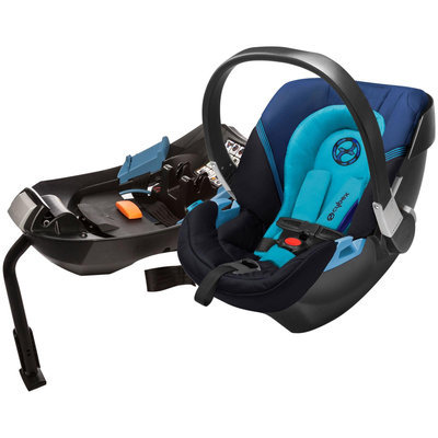 Cybex Aton 2 Infant Car Seat in True Blue
