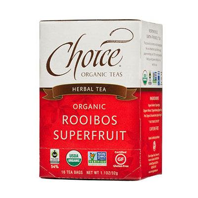 Choice Organic Teas Rooibos Superfruit Herbal Tea