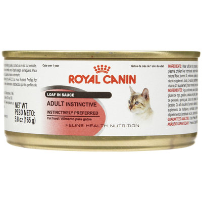 Royal Canin Feline Health Nutrition Adult Instinctive Loaf - 24x5.8 oz