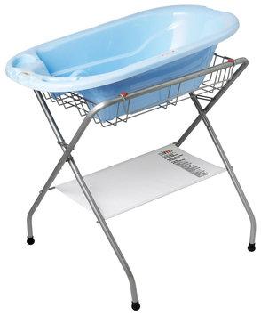 Primo Folding Bath Stand, Steel Gray - 345