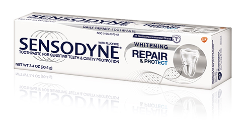 Sensodyne® Repair and Protect Whitening Toothpaste