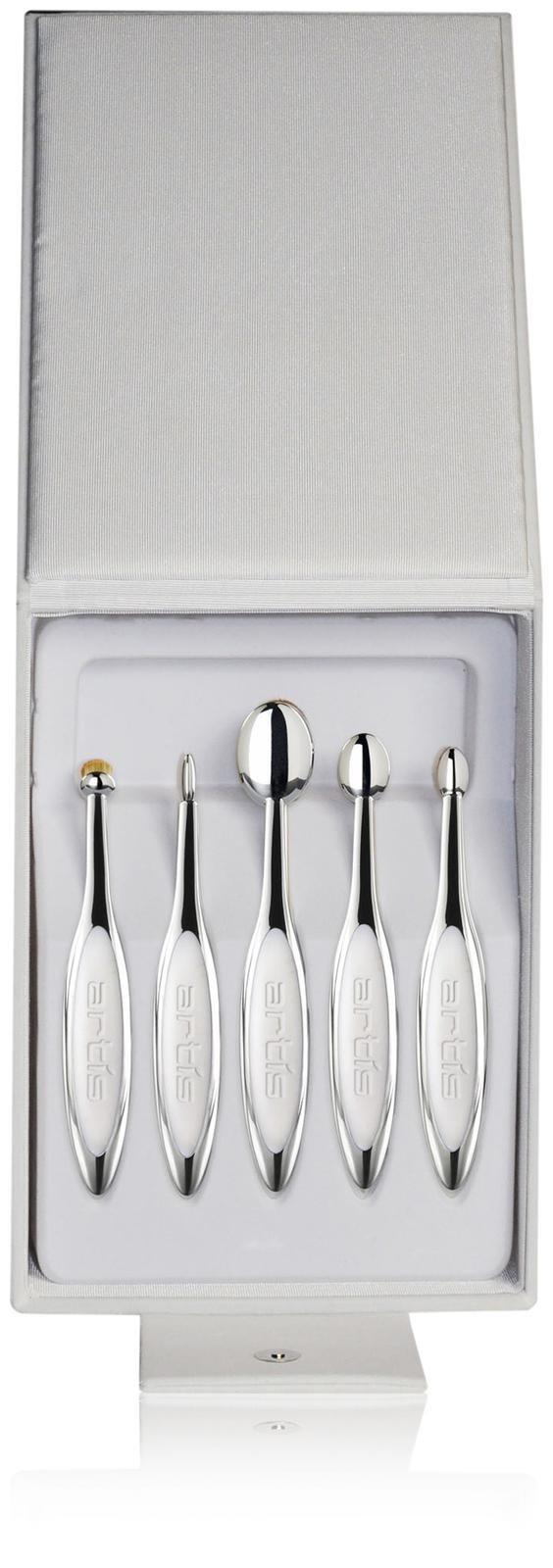 Artis Elite Mirror White Velvet Brush Set