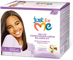 Soft & Beautiful Just for Me! No-Lye Conditioning Creme Relaxer
