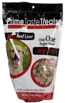Prime Taste Treats Freeze Dried Beef Liver