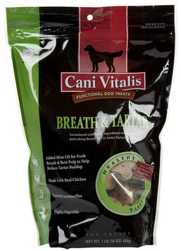 Cani Vitalis Natural Functional Cookie - Breath & Tartar - 16oz