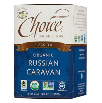 Choice Organic Teas Russian Caravan Black Tea