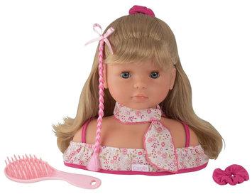 Corolle Hairstyling & Makeup Head - Blonde Hair/Blue Eyes 9