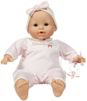 Corolle Classic Suce Pouce Pink Stripes 14 in. Doll