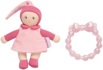 Corolle Pink Mini Miss & Baby Teether