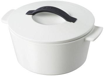 Revol Giftbox Induction Round Cocotte - White Satin, 9