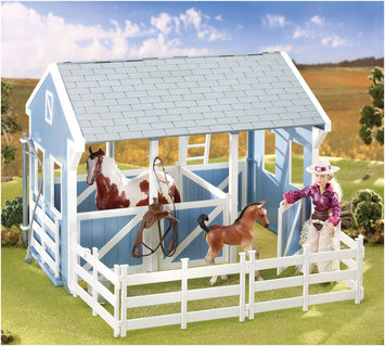 Reeves-breyer Breyer Classics Country Stable with Wash Stall