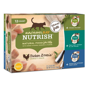 Rachael Ray™ Nutrish® Grain Free Wet Food for Cats Chicken Lover's Variety Pack