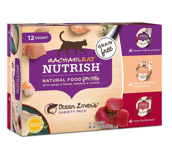 Rachael Ray™ Nutrish® Grain Free Wet Food for Cats Ocean Lover's Variety Pack