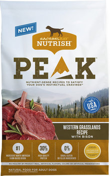 Rachael Ray™ Nutrish® PEAK™ Ultra Premium Food for Dogs Western Grasslands Recipe with Bison