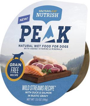 Rachael Ray™ Nutrish® PEAK™ Ultra Premium Wet Food for Dogs Wild Streams Recipe™ with Duck & Salmon in Rustic Gravy