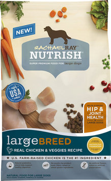 Rachael Ray™ Nutrish® Super Premium Food for Dogs Large Breed Real Chicken & Veggies Recipe